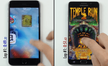 Did the iPhone 6s Just Beat the Galaxy Note 5 in a Speed Test?