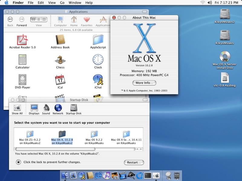 Mac OS X Jaguar. Photo: Apple