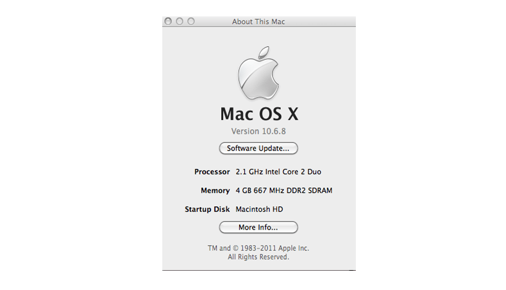 how to run older versions of mac os x