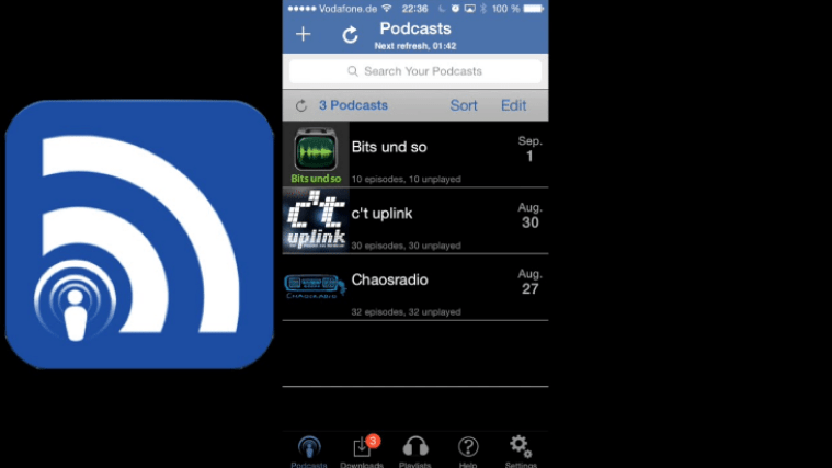 podcast apps - icatcher