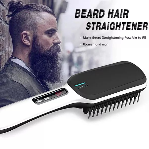 Men's Beard Straightener Grooming Kit Gifts
