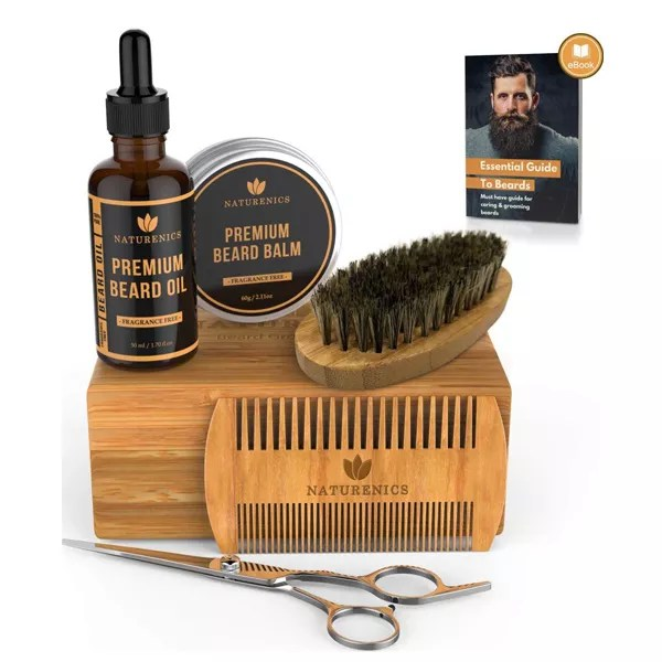 Men's Moustache Grooming Kit Gifts