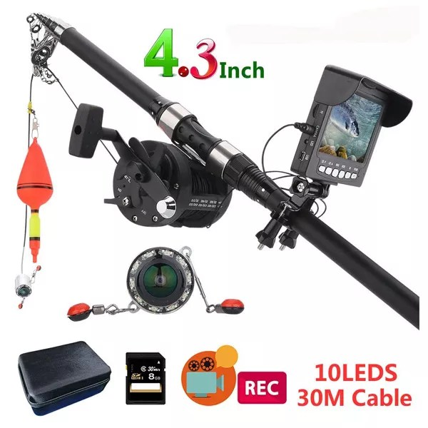 Fishing Rod With Underwater Camera