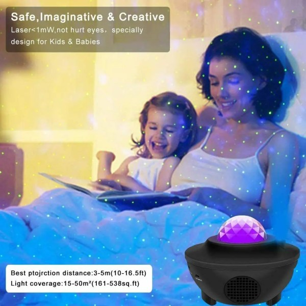 Ultimate LED Galaxy Starry Night Light Projector| Ultimate Moon Lamps