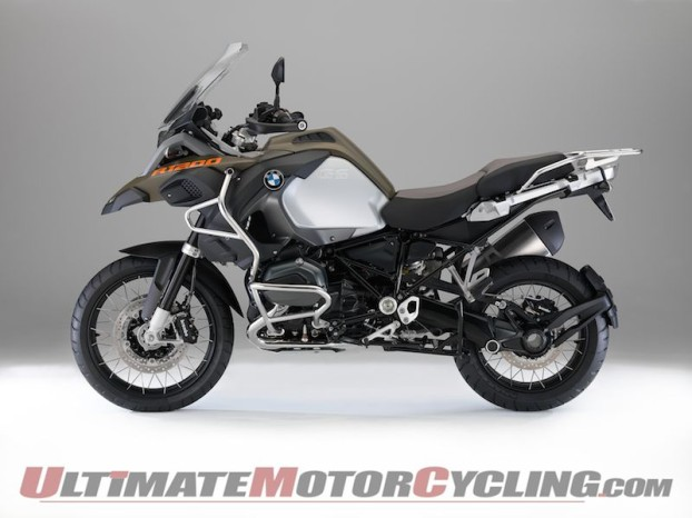 2014 BMW R 1200 GS Adventure   First Look Review
