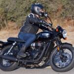 2017 Triumph Bonneville T100 Black Review Dark Good Times