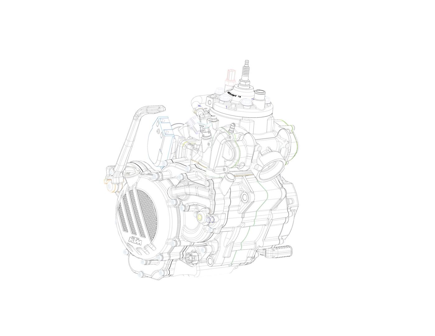 Ktm Fuel Injected Two Stroke Engines Announced
