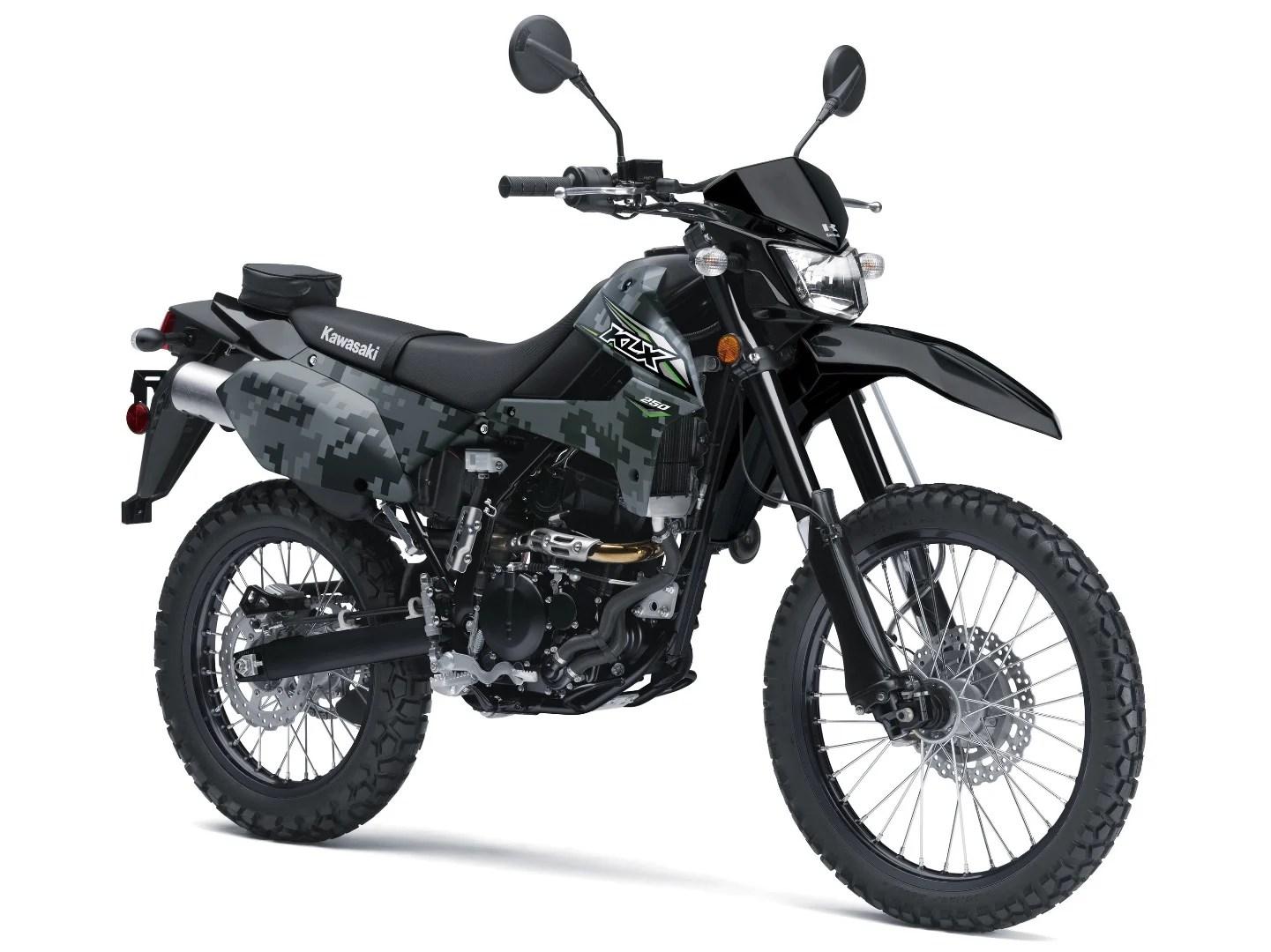 2018 Kawasaki KLX250 First Look Fast Facts