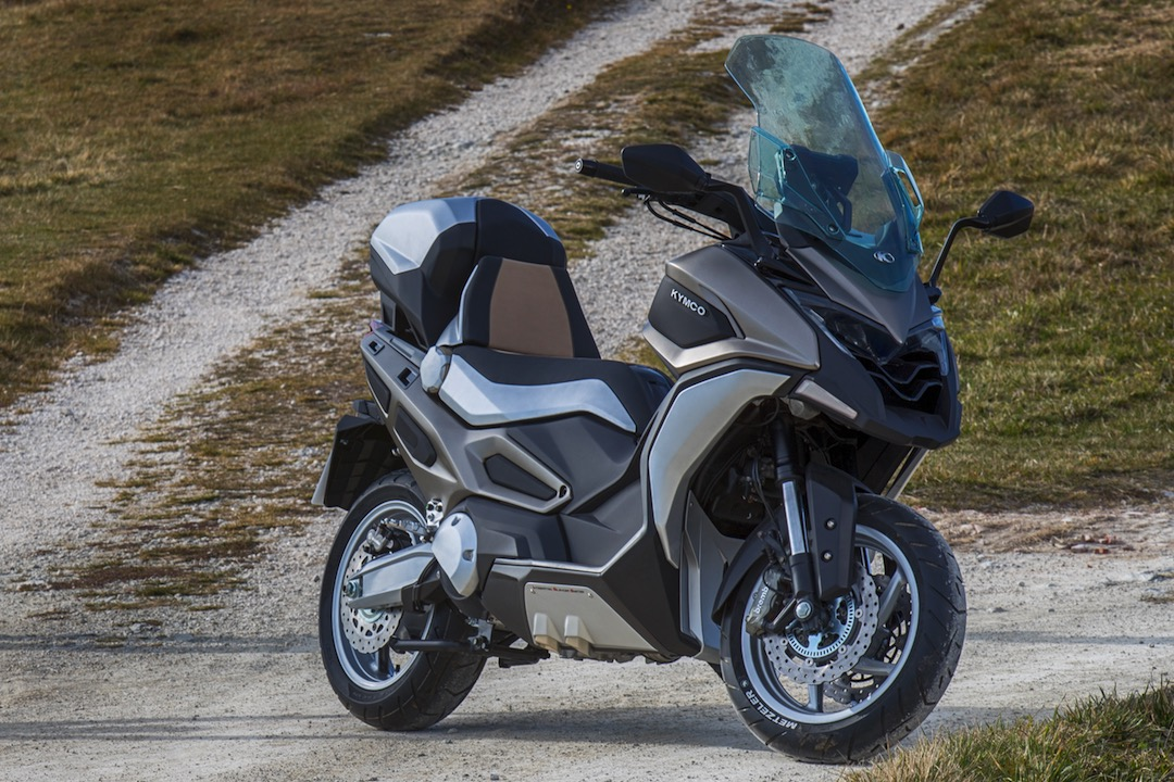 Kymco CV2 Concept First Look An ADV Scooter