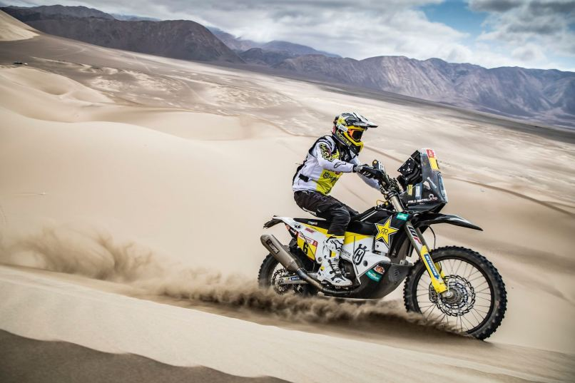2019 Dakar Rally Stage 6 Results Motorcycles Quintanilla Back On Top