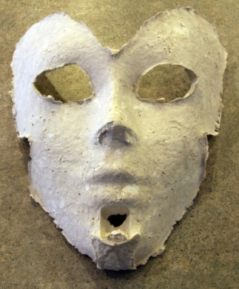 Mask Just Out of the Mold