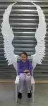 Paper Mache Angel Chair