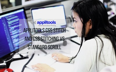 Applitools CSS Stitching And Full Page Scroll