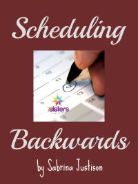 Scheduling High School Year Scheduling Backwards Freebie