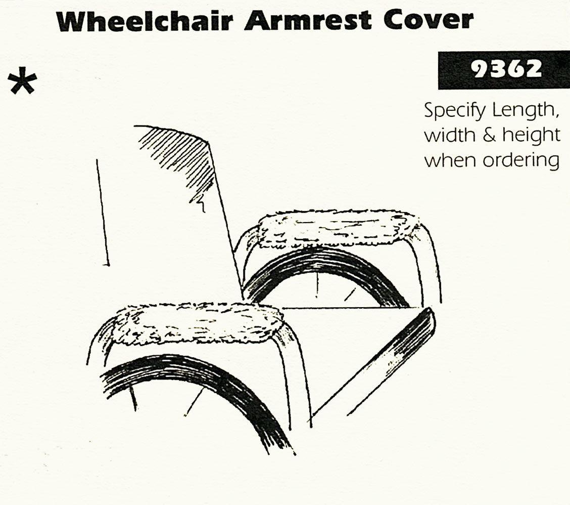 Sheepskin Wheelchair Cover For Power Wheelchair