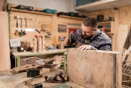 working in your woodworking shop