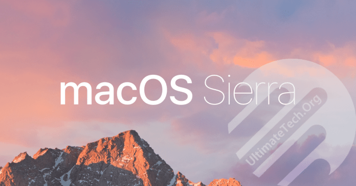 Install/Boot macOS Sierra on Intel-based PC