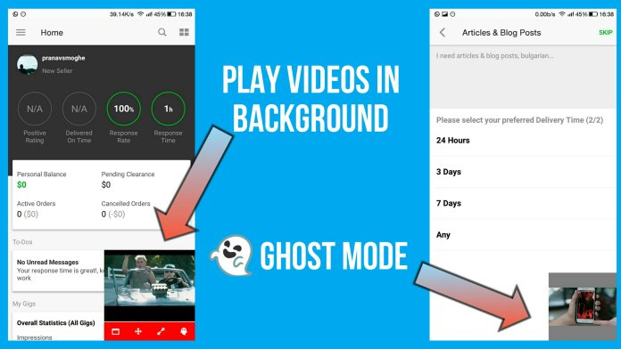 2 Ways to Play YouTube Videos in Background on Android For FREE (No Root Required)