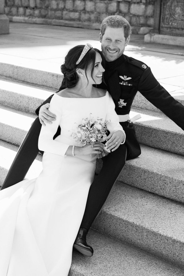 Harry Meghan royal wedding official photo