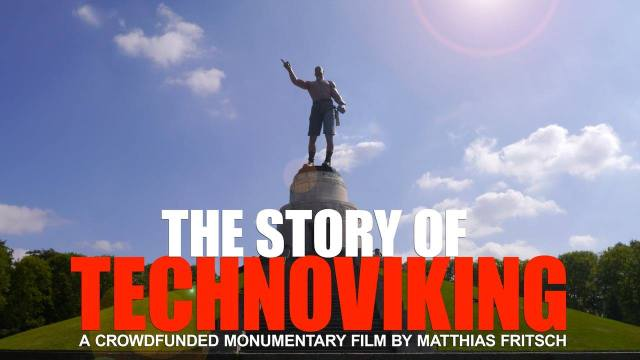 "Cartel de ""The Story of Technoviking"""