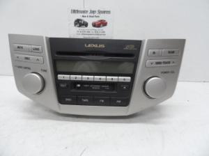 LEXUS RX330 RADIOCD PLAYER 6 CD STACKER6 IN DASH, 0403