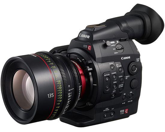 4K Cinema-Kamera von Canon vorgestellt