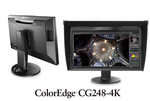 Eizo ColorEdge CG248-4K: Neuer Ultra HD Monitor mit 24 Zoll