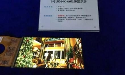 Everdisplay: Erstes 6 Zoll 4K AMOLED-Display mit 734 ppi vorgestellt