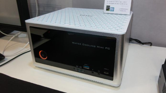 CeBIT 2016: Neuer Mini-PC für 4K-Gaming mit Wasserkühlung