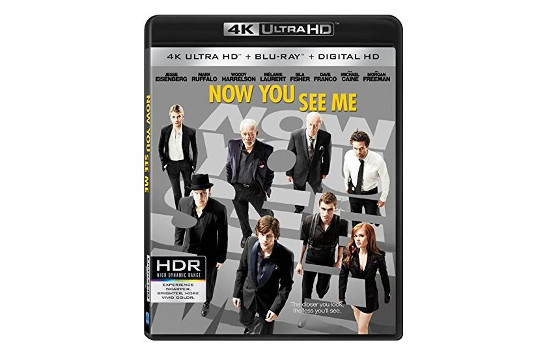 """LionsGate: """"Now You See Me"""" in den USA auf Ultra HD Blu-ray"""