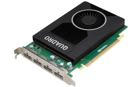 Nvidia Quadro M2000: Neue Profi-Grafikkarte für 4K und HEVC