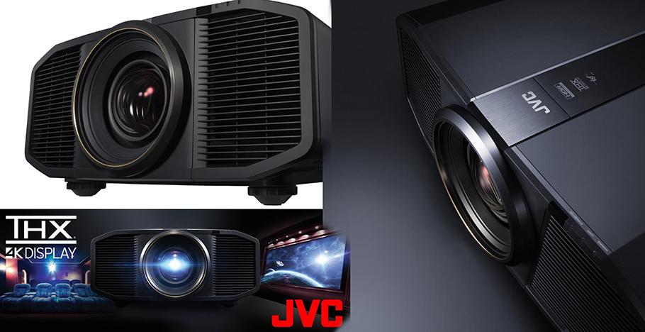 Japanischer Laserbeamer von JVC mit amerikanischem THX-Logo Erster einer neuen Spezies