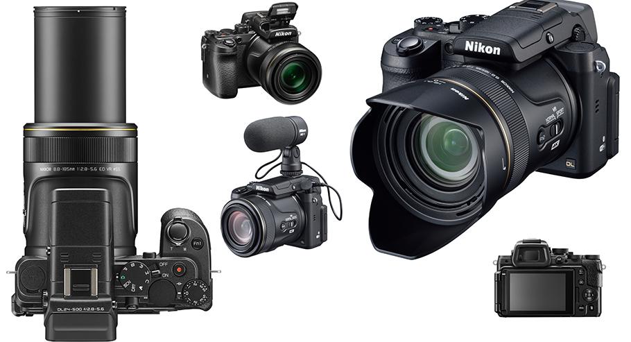 Nikon DL24-500 bringt 4K-Technik und enorme Brennweite für einen Tausender