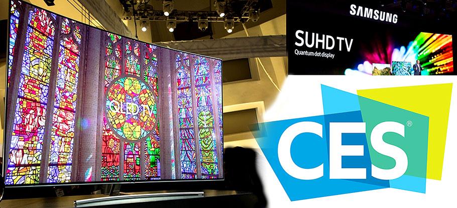 Samsung QLED-TVs hinterlassen in Las Vegas erste bleibende Eindrücke