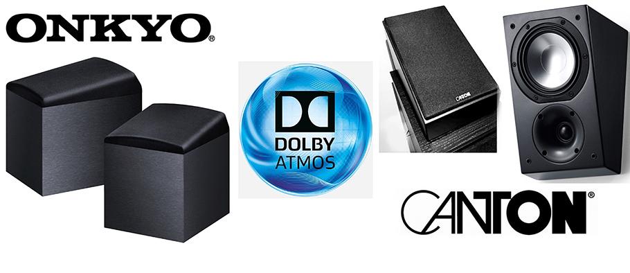 """Dolby-Atmos Speaker: Edles von Canton und ein """"Geheimtipp"""" von Onkyo"""