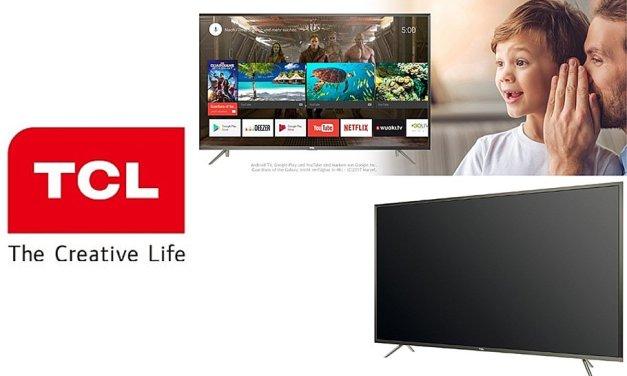 TCL P-Series: 50- und 65-Zoll-Modell des 4K-TV eingestellt