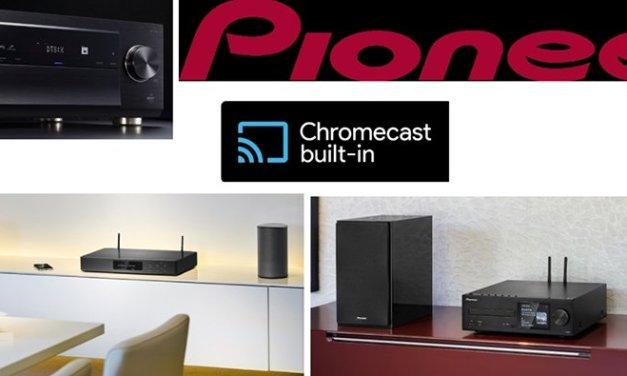 Pioneer Firmware Update bringt Geräte aus 2016 mit Chromecast auf Trab