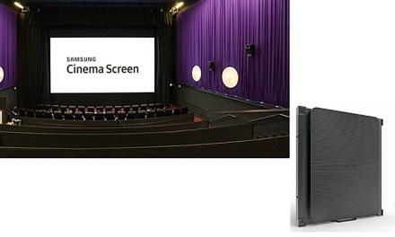 Löst Samsung Cinema Screen auf lange Sicht die Kino-Leinwand ab?