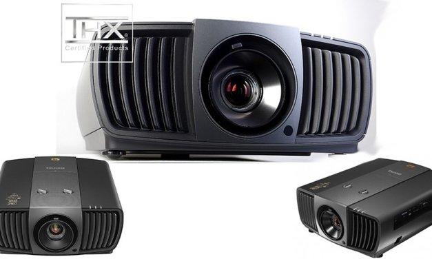 Erste BenQ-Projektoren mit 4K-UHD-Auflösung setzen neue Maßstäbe