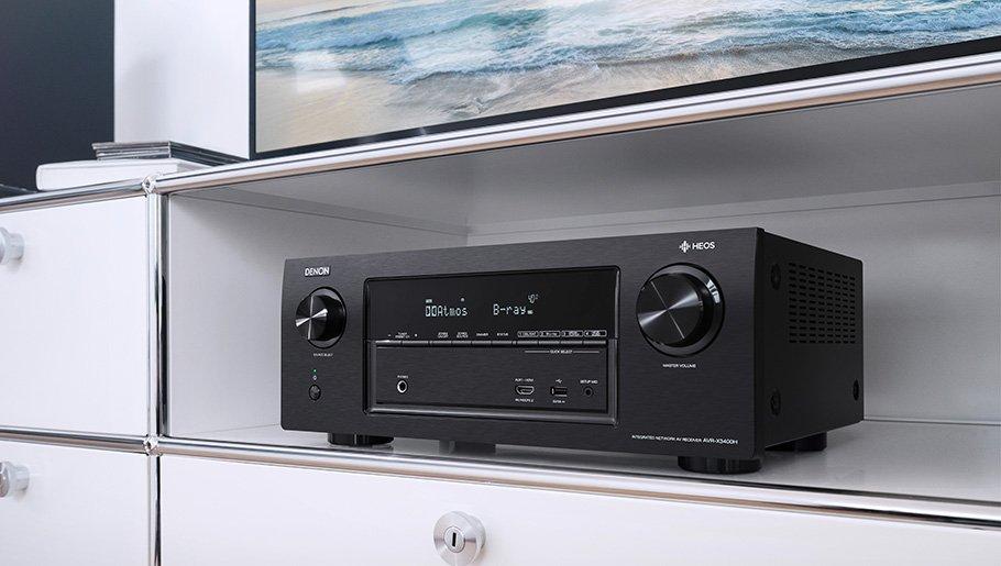 3D-Klang plus Hi-Res Audio und Multiroom: Denons neuer Tausendsassa
