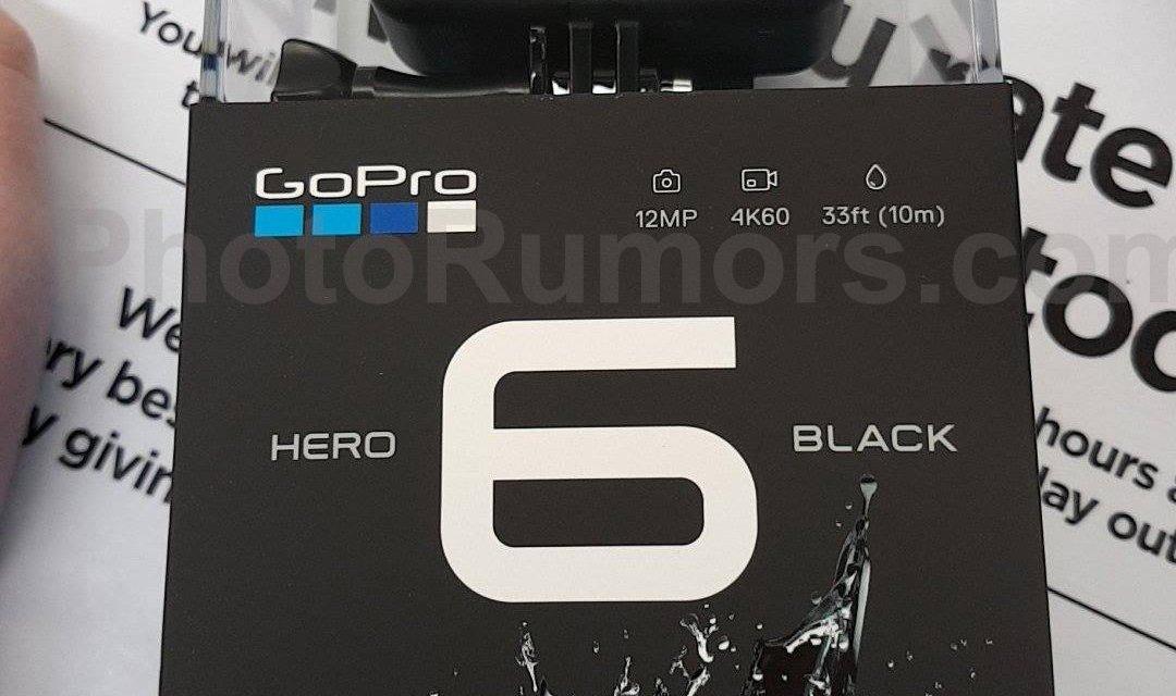 GoPro Hero6 Black Edition auf Foto geleakt
