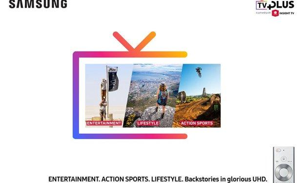 Mit Insight TV auf Samsung-Geräten mehr UHD-HDR-Content genießen