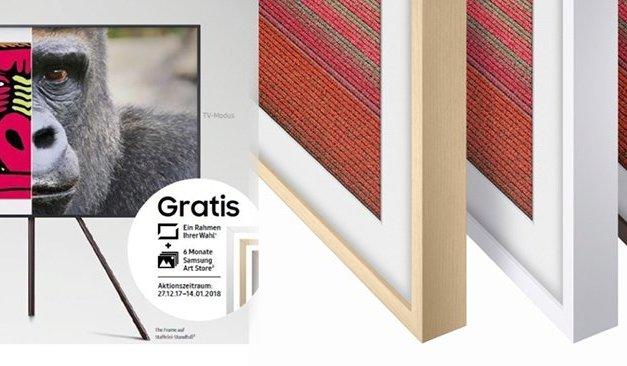 """Samsung sprengt mit Gratis-Zugaben für """"The Frame"""" den Rahmen"""