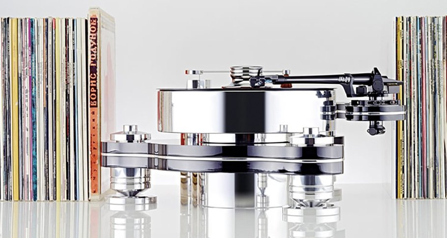 Gegen normale Plattenspieler wirkt Transrotor wie ein Instrument!