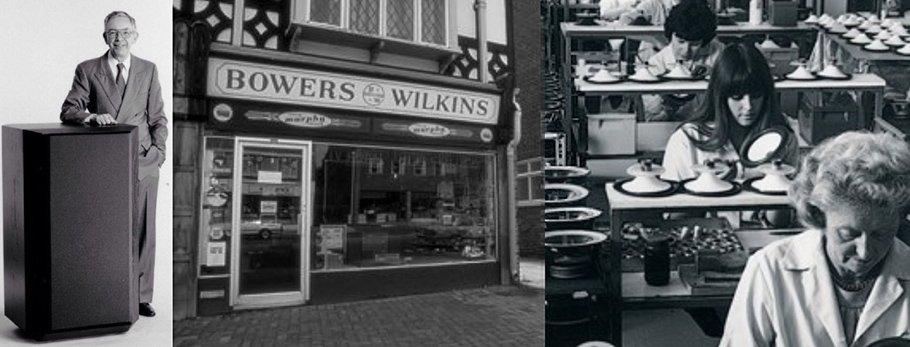 Die Bowers & Wilkins-Story: Steiniger Weg zur Diamant-Kalotte