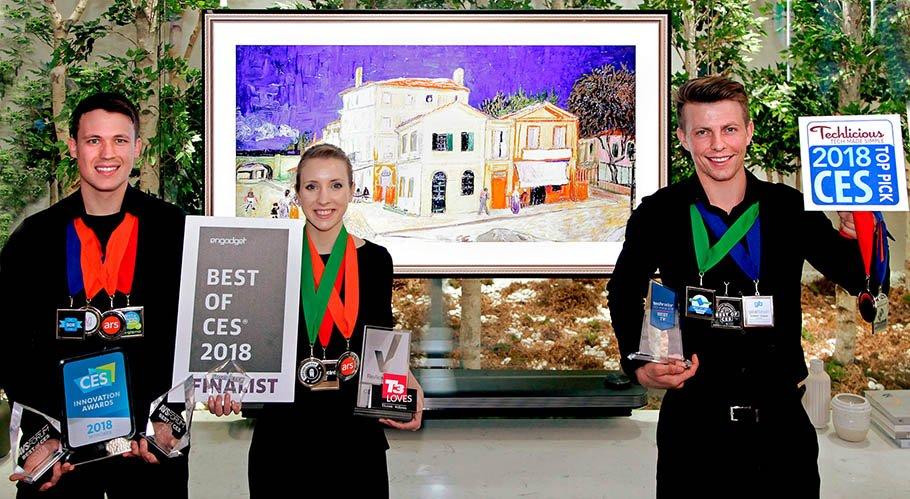 "LGs Top-OLED TV verteidigt Titel ""CES Best TV Product Award"""