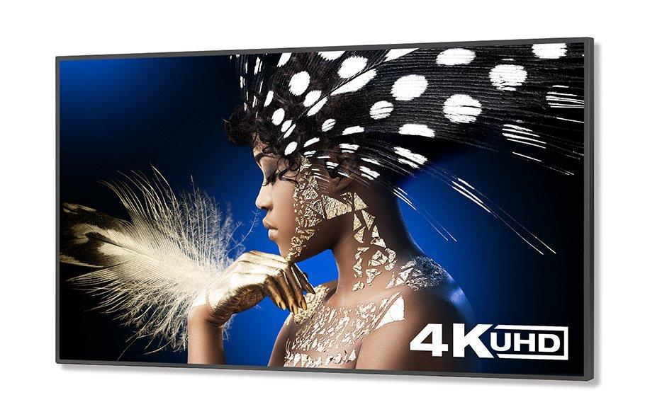 NEC-Display Solutions: Bildschirme ab 65 Zoll unterstützen UHD