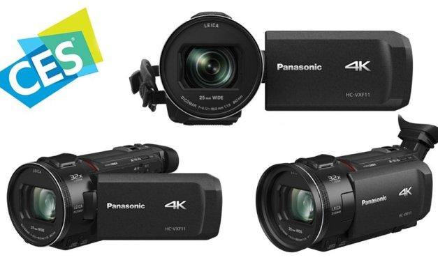 """Panasonics neue 4K Camcorder """"pampern"""" anspruchsvolle Videofilmer"""
