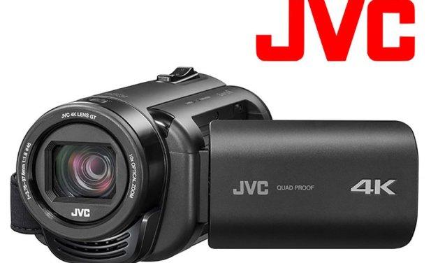 JVC vereinigt 4K-Camcorder und Action Cam in einem robusten Gehäuse