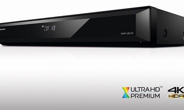 Neue Panasonic UHD Blu-ray Recorder haben ein wenig abgespeckt